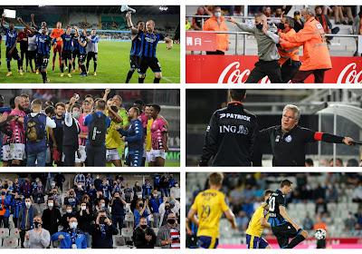 Fans gaven (bijna allemaal) het goede voorbeeld, Charleroi, Anderlecht, Club vs Waasland-Beveren en muiterij in Ghelamco