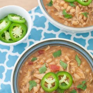 Instant Pot White Bean Chicken Chili.