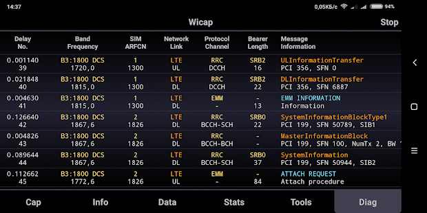 Wicap 2. Sniffer Pro [ROOT] Screenshot