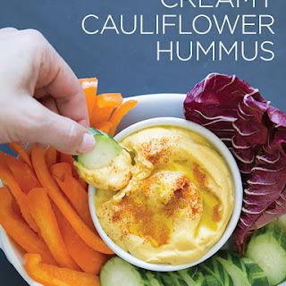 Creamy Cauliflower Hummus