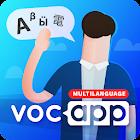 Aprender idiomas usando fichas - Voc App icon