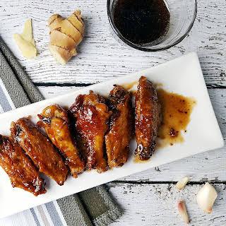 Soy Free Teriyaki Chicken Wings.