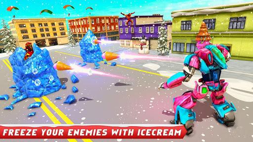 Ice Cream Robot Truck Game - Robot Transformation filehippodl screenshot 11