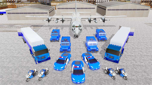 US Police Transporter Plane Simulator 2.1 screenshots 5