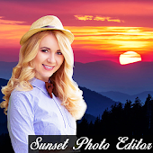 Sunset photo editor