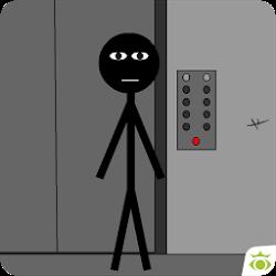 Stickman escape lift