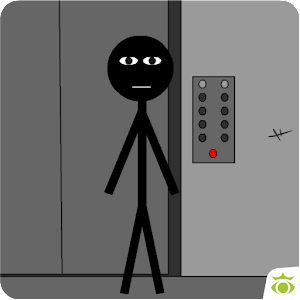 Stickman escape lift for PC and MAC