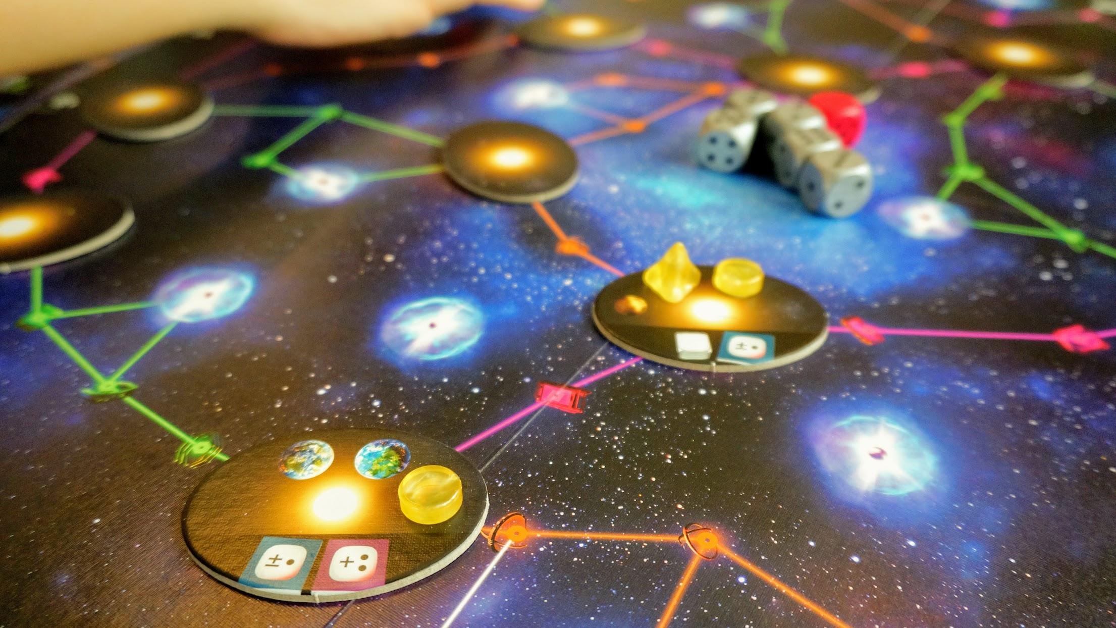 パルサー2849:宇宙船の移動