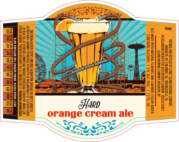 Logo of Coney Island Hard Orange Cream Ale