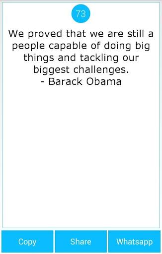 101 Great Saying By B'Obama