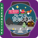 HuskyDEV Christmas Watch Face Icon