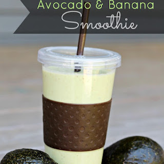 Banana & Avocado Smoothie