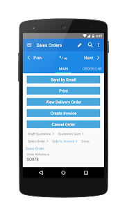 mERP (Odoo mobile)- screenshot thumbnail