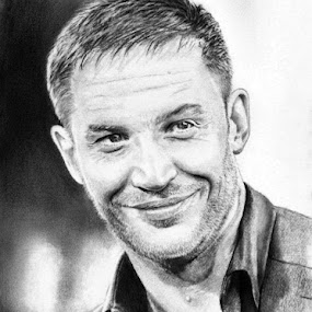 Tom Hardy by Franky Go - Drawing All Drawing ( this means war, male, inception, hollywood, actor, drawing, bane, realistic, celebrity, minotaur, batman, dark knight, dark knight rises, handsome, man, macho, tom hardy )