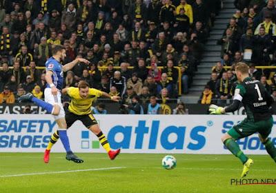 Dortmund-speler Mario Götze is enkele weken out met een enkelblessure