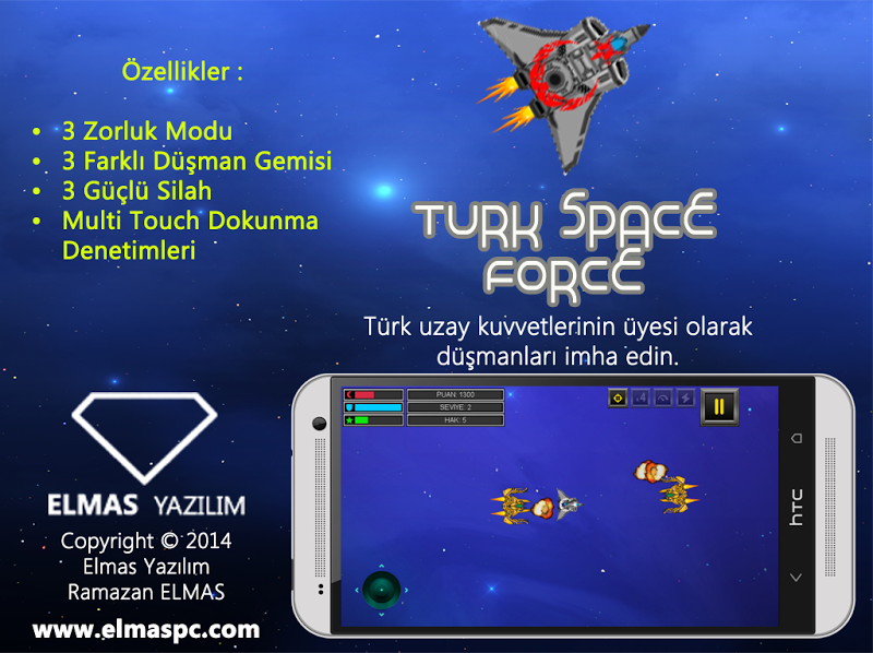 Скриншот Turk Space Force
