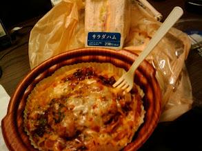 Photo: Pasta & sandwich de Combini