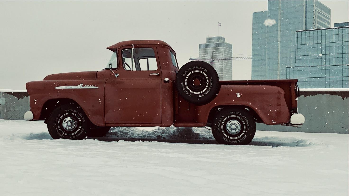 Chevrolet Apache Truck Hire Nashville