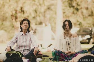 Photo: Meditación con Cuencos  al aire libre
