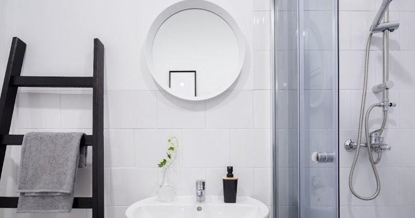 Przykładowa aranżacja małej łazienki