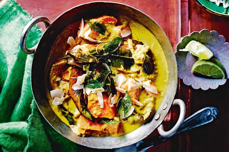Eggplant and Sweet Potato Curry Recipe