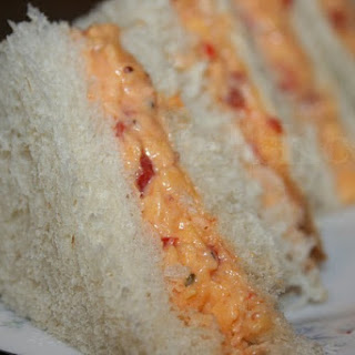 Roasted Red Pepper Pimento Cheese.