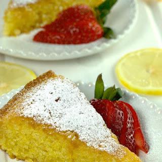 Vibrant Lemon Polenta Cake Recipe