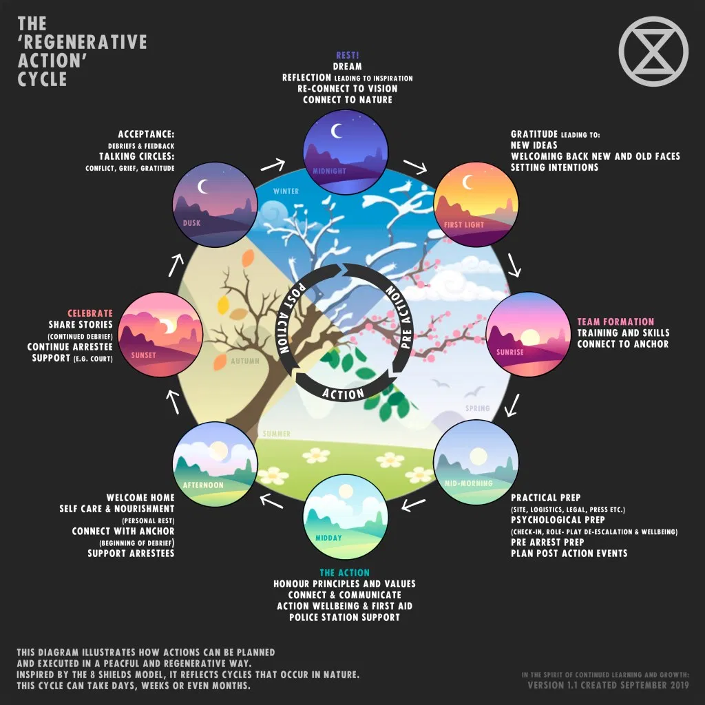 The regenerative action cycle.