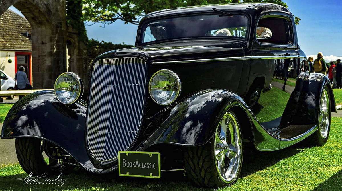 Ford Coupe Hire Glasgow