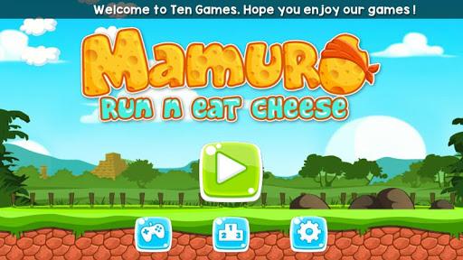 玩休閒App|Mamuro运行和吃奶酪 (孩子们)免費|APP試玩