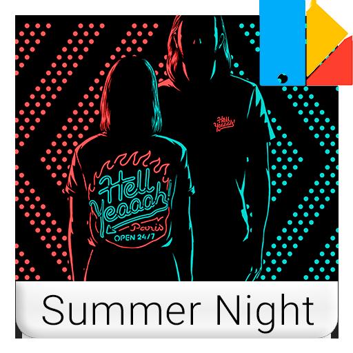 Summer Night Xperia™ Theme