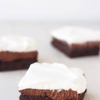 Chocolate Cream Pie Brownies.