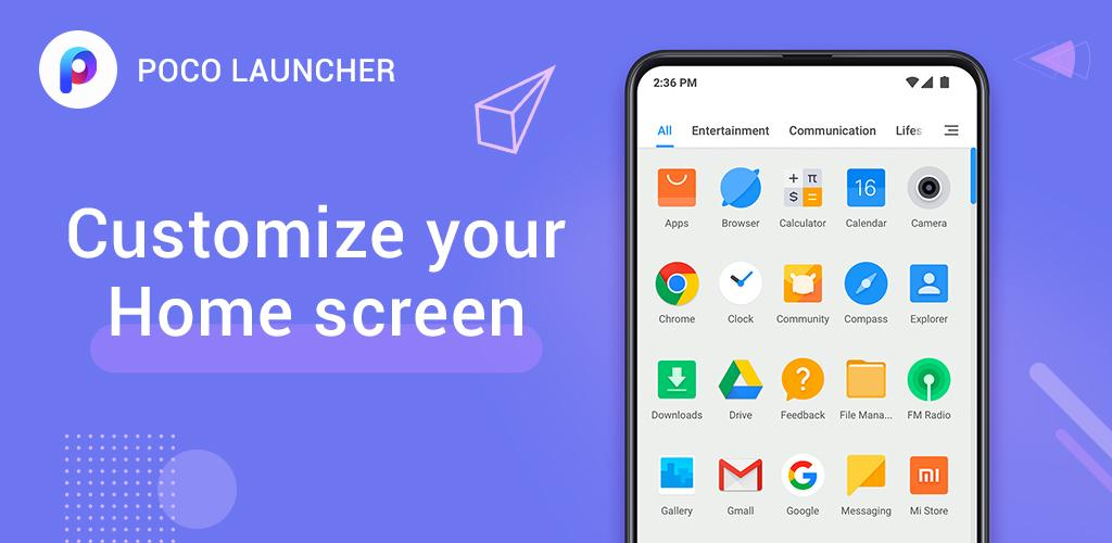 POCO Launcher 2 0 - Customize, Fresh & Clean - App by Xiaomi