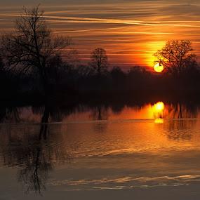 sunset by Jana Černošková - Landscapes Sunsets & Sunrises ( sunset,  )