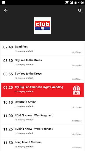 Belgium TV EPG Free 2.5 screenshots 5