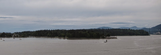 Photo: Stanley Park from water