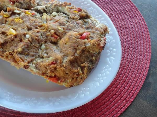Healthy Southwestern Turkey Meatloaf
