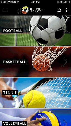 all sports courts screenshot 1