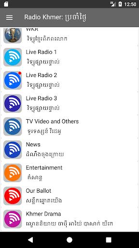 Radio Khmer 11.07 screenshots 2