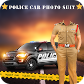Police Photo Suit: Police Car Photo Editor