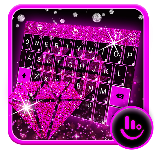 Shine Bright Like A Diamond Keyboard Theme