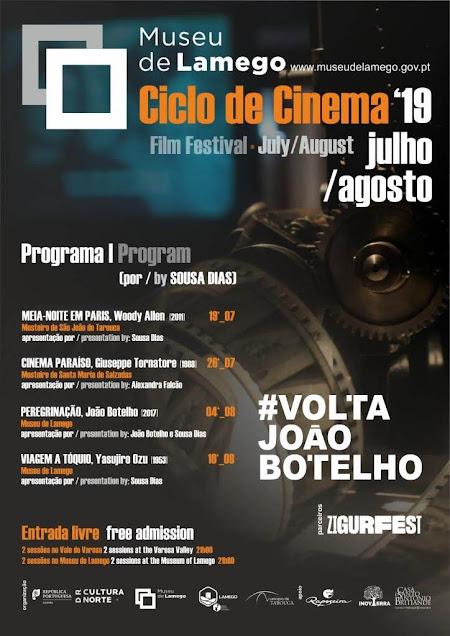 7ª edição do Ciclo de Cinema do Museu de Lamego marca regresso de João Botelho