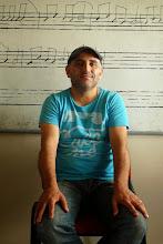 Photo: Genim, member of Koma Çiya - Kurdish musical group, Navenda Çanda Mezopotamya Istanbul 2013