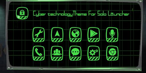 Cyber Technology Theme