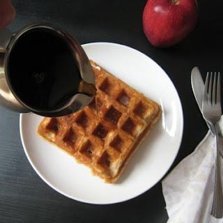 Sugar-free, Cinnamon Waffles