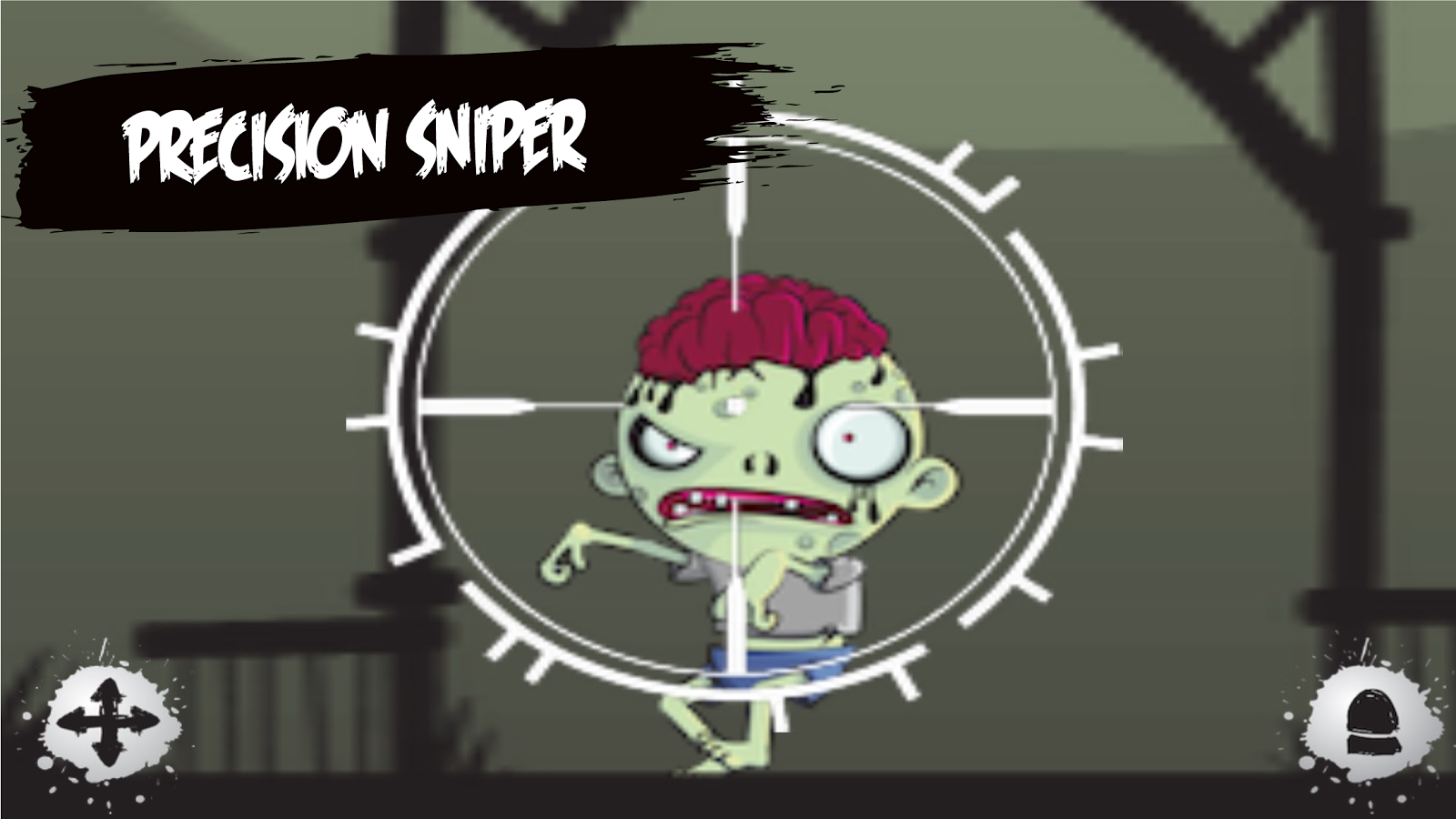 Zombie Target Shooting for Kid- screenshot