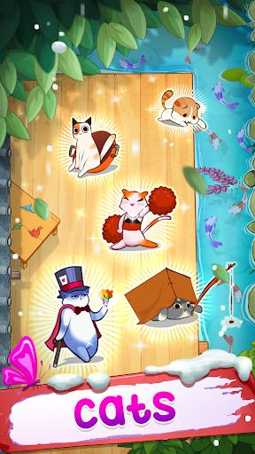 Télécharger Gratuit Merge cats - Meowaii Garden  APK MOD (Astuce) screenshots 3