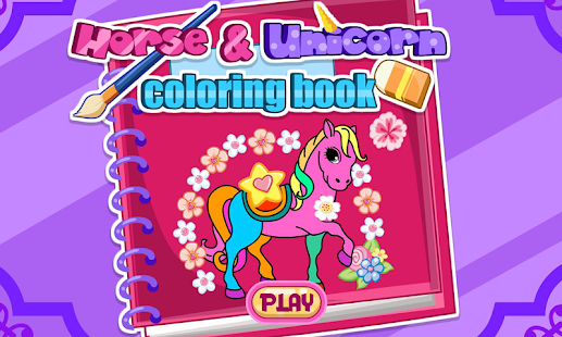 horse unicorn coloring book android apps on google play on horse and unicorn coloring book