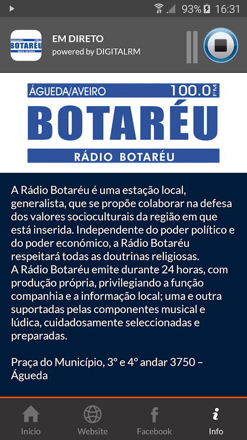 Rádio Botaréu- screenshot