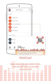 Wish 107.5 App - náhled